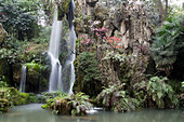 an-artificial-waterfall-at-the-garden-of