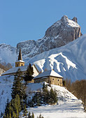 montrond-church-with-the-aiguilles-darve