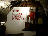 The Great Siege Tunnels, Gibraltar, Europe