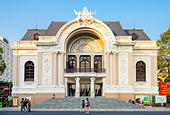 Saigon Opera House (Municipal Theatre), Ho Chi Minh City (Saigon), Vietnam, Indochina, Southeast Asia, Asia - Stock Image