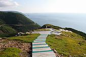 The Skyline Trail in Cape Breton, Nova Scotia. - Stock Image