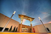 Potomac Mills Outlet Center in Woodbridge Virginia near Washington DC US USA. Side entrance, newly redesigned. - Stock Image