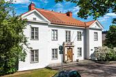 Mannerheim Museum; Mannerheimin Museo. Home of Carl Gustaf Emil Mannerheim, famous Finnish statesman and military officer. Helsinki, Finland. - Stock Image