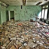 floor-covered-with-old-books-in-abandone