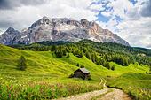 Sasso di Santa croce, Dolomites - Stock Image
