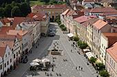 market-square-slavonice-or-zlabings-mora