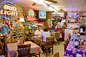 Irma's Restaurant, a Houston institution for Mexican Food downtown - Stock Image